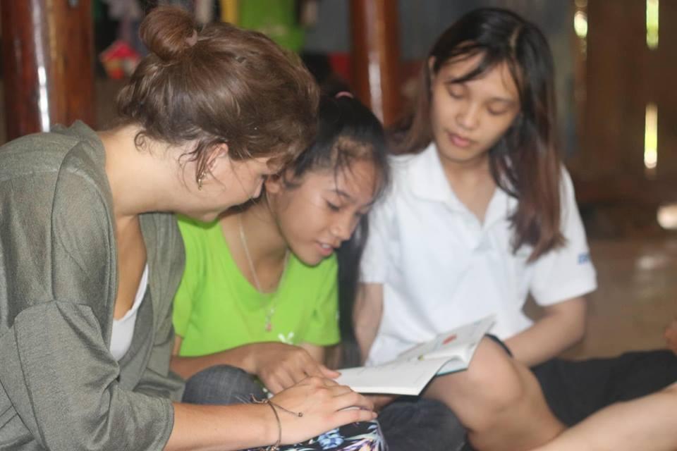 Visiting the children of the Aspiration Fund, Vietnam