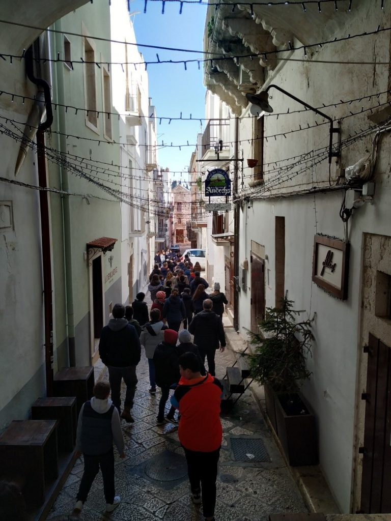 Explore the towns during your volunteering project in Italy